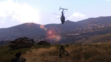 ARMA 3 new terrain debuts at E3