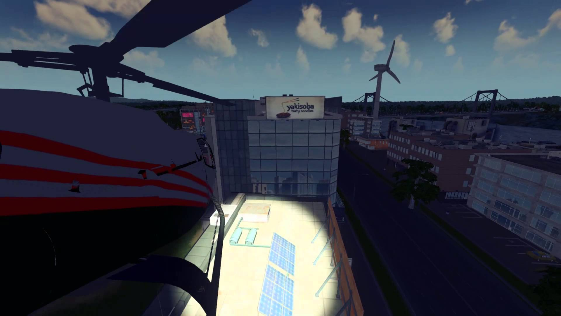 Cities: Skylines CityCopter mod now lets you fly a chopper