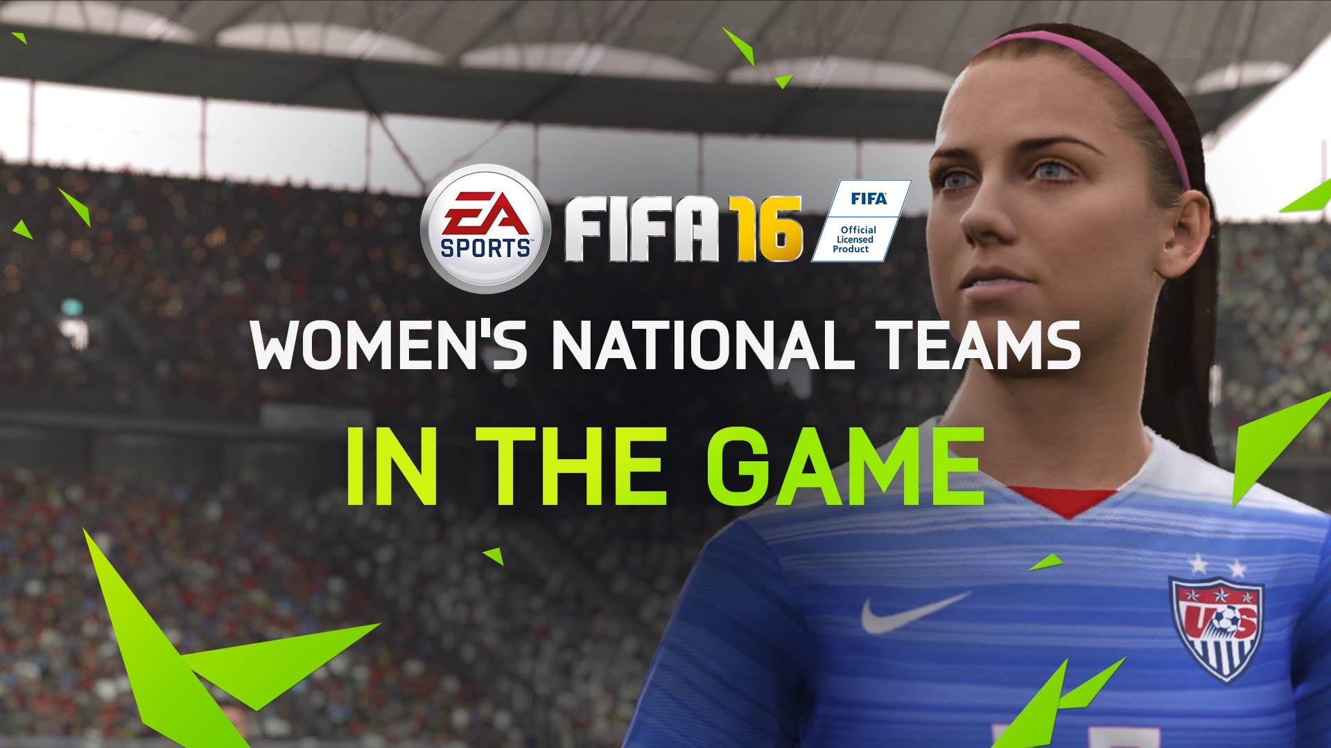 FIFA 16 teased in trailer – Women's national teams now included