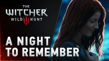 Invisible ladies and nosebleeds in the latest Witcher 3 cinematic