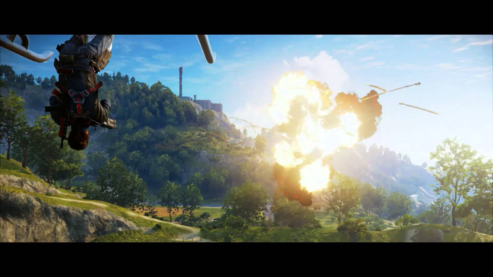 Just Cause 3 gameplay trailer released