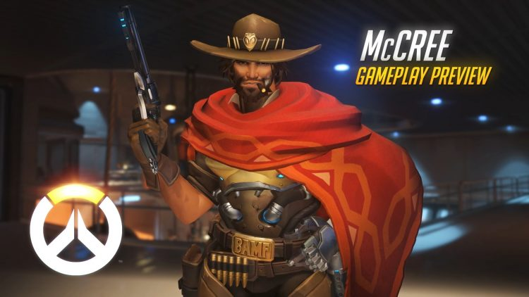 Overwatch McRee gameplay and profile trailer