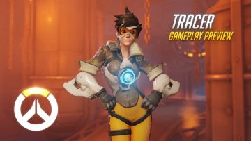 Overwatch trailer highlights Tracer