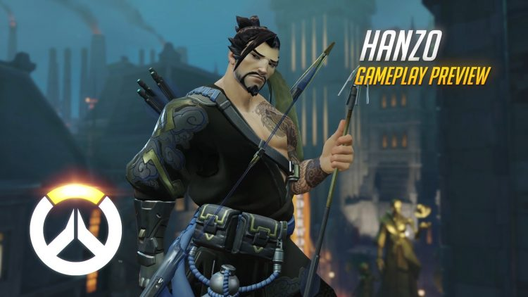 Overwatch video shows complete Hanzo match
