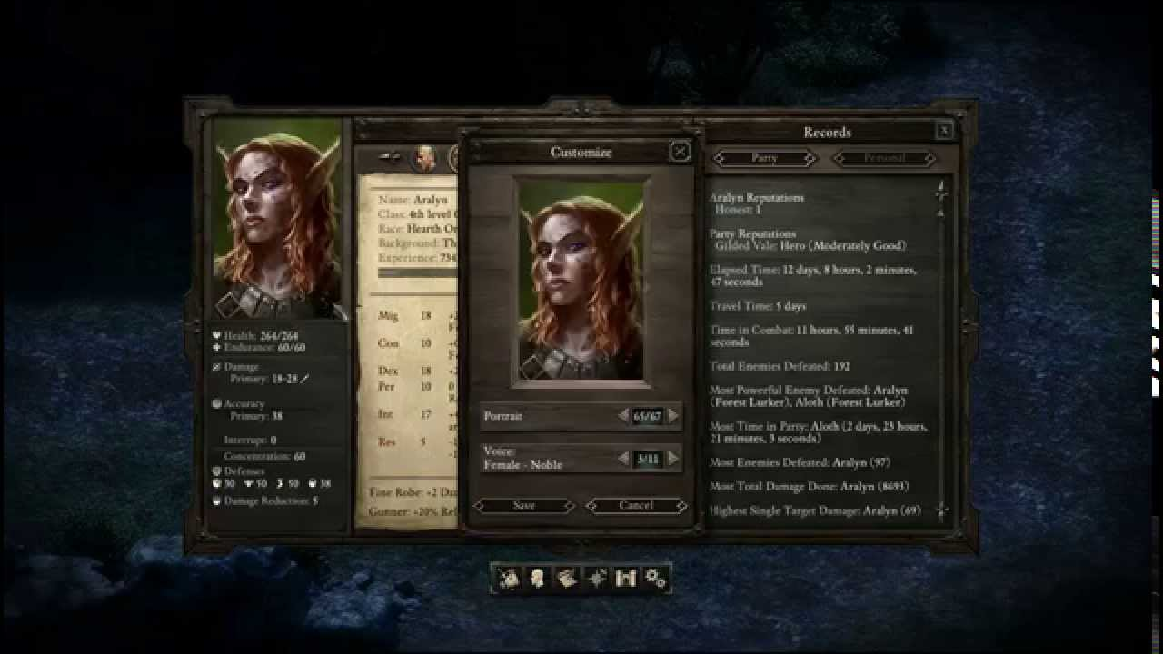 Pillars of Eternity 1.05 patch released with new features