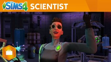 The Sims 4 Get to Work trailer gets mad scientists to work