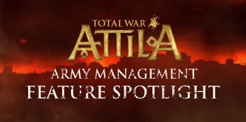 Total War: Attila video shows updated army management