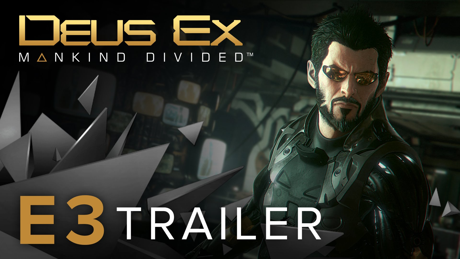 Deus Ex: Mankind Divided gets details, gameplay trailer