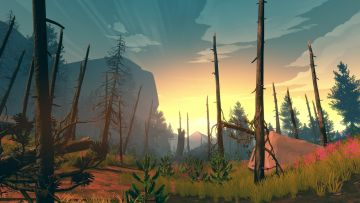 Firewatch E3 trailer and screens