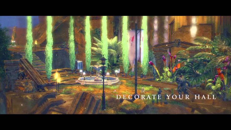 Guild Wars 2 Heart of Thorns video shows Guild Halls
