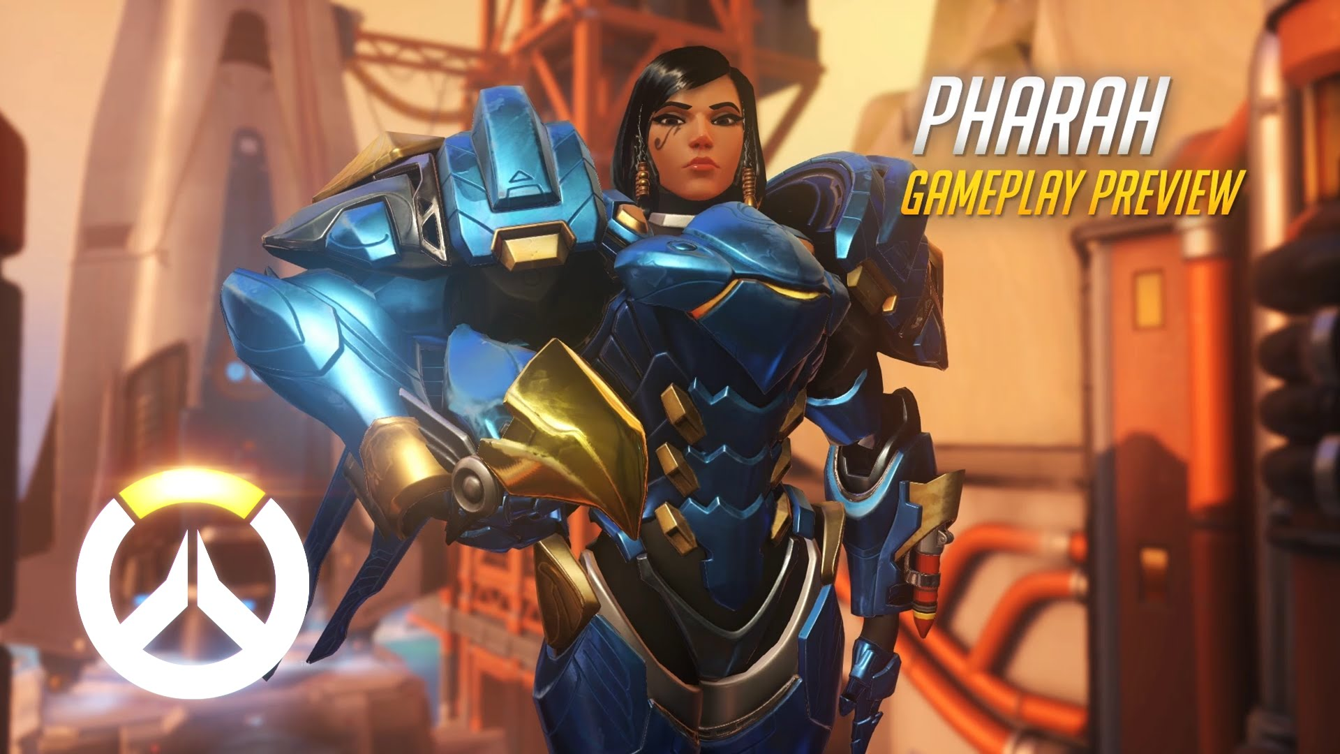 Overwatch Pharah Gameplay Preview