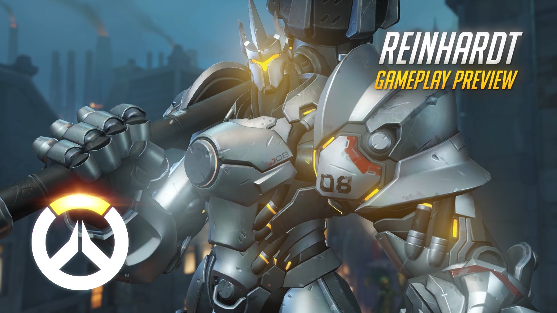 Overwatch Reinhardt Gameplay Preview