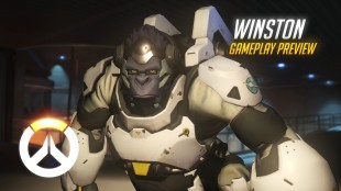Overwatch Winston Gameplay
