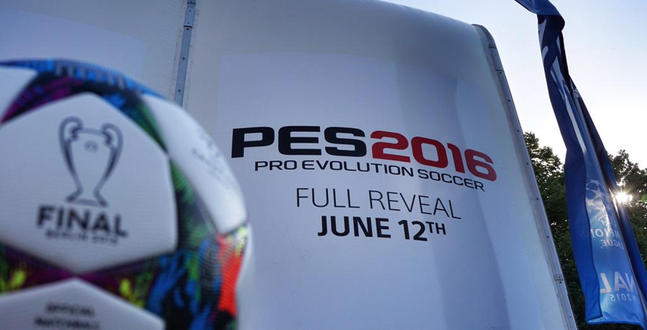 """PES 2016 will be on PC, """"full"""" reveal on 12 June"""