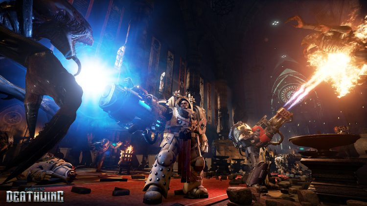 Space Hulk: Deathwing offers more moody corridor shots