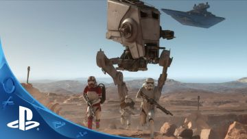 Star Wars: Battlefront Survival Mode co-op E3 gameplay trailer