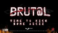 Brut@l ASCIIs for your attention on 9 February